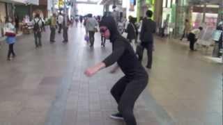 TROLLING JAPAN (全身タイツ現れる?!)