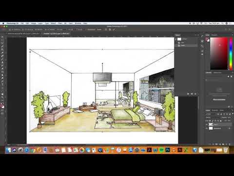 Interior Design Presentation Board