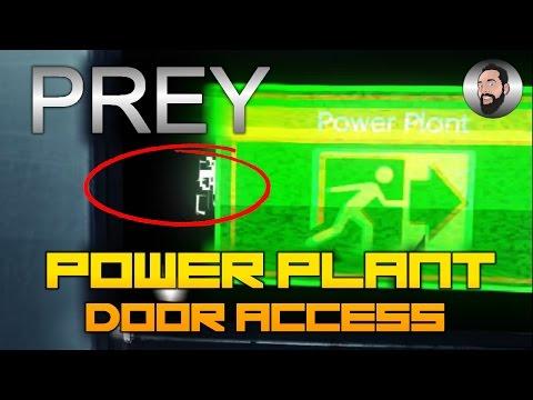PREY | POWER PLANT DOOR ACCESS | HOW TO UNLOCK