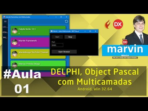 #Aula01 - Delphi - Object Pascal com Multicamadas