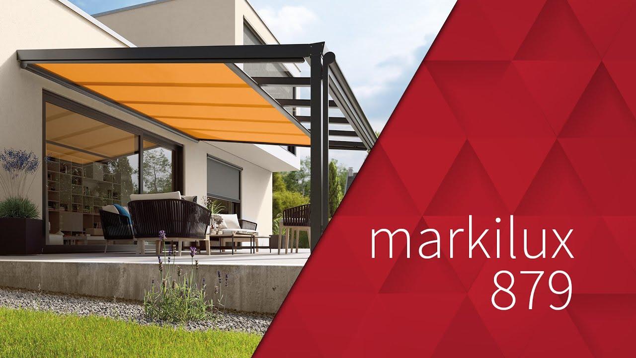 markilux 879 wintergartenmarkise youtube. Black Bedroom Furniture Sets. Home Design Ideas