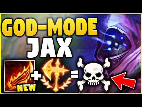 NEW RAGEBLADE + NEW KEYSTONE ON JAX = GOD LIKE JAX! - League of Legends