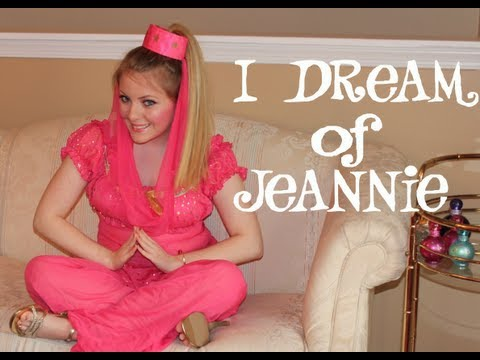 sc 1 st  YouTube & I Dream of Jeannie  Halloween Tutorial  - YouTube