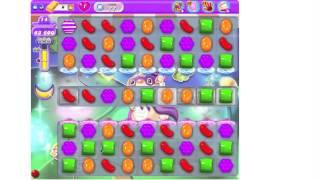 Candy Crush Saga DREAMWORLD Level 77 ★★★ no boosters (TUTORIAL)