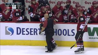 Gotta See It: Schenn completely flattens Coyotes