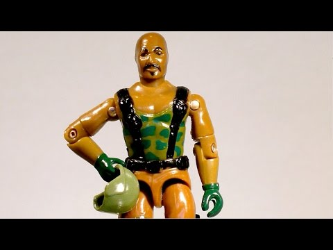 1984 Roadblock (Heavy Machine Gunner) G.I. Joe review