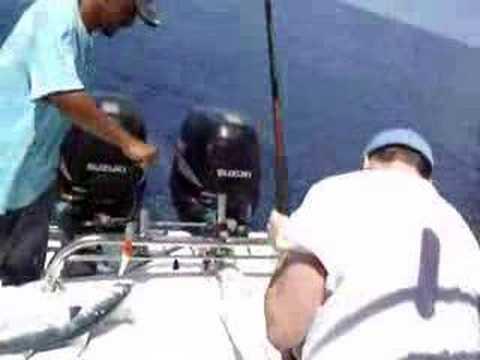 Extreme Tuna Fishing Day. Mahé Seychelles