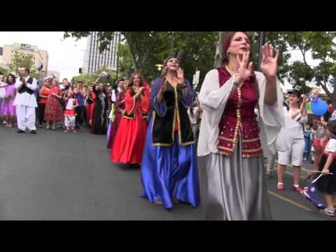 Australia Day Parade Adelaide 2016-Persian team - Dance and Music- ایرانیان ادلید - رقص و موسیقی