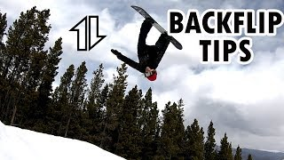 Backflip Tips with Celia Miller (Damien Sanders style)