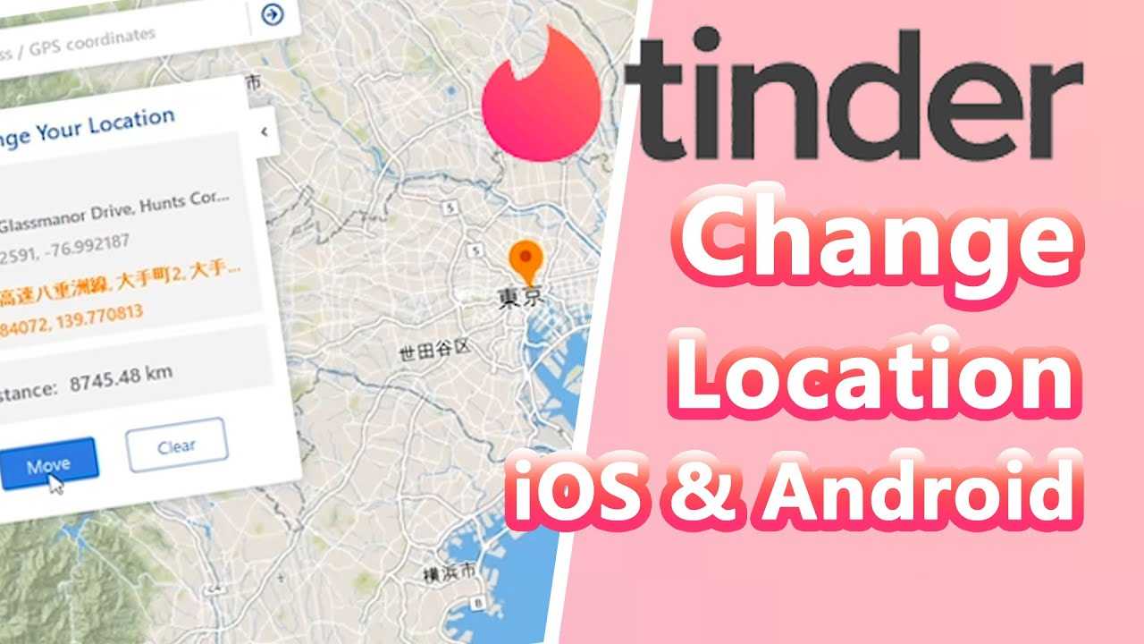 Change Location on Tinder App