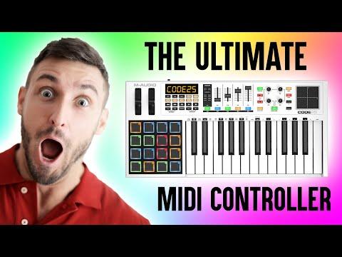 UNBOXING M-Audio Code 25! [Midi Keyboard]