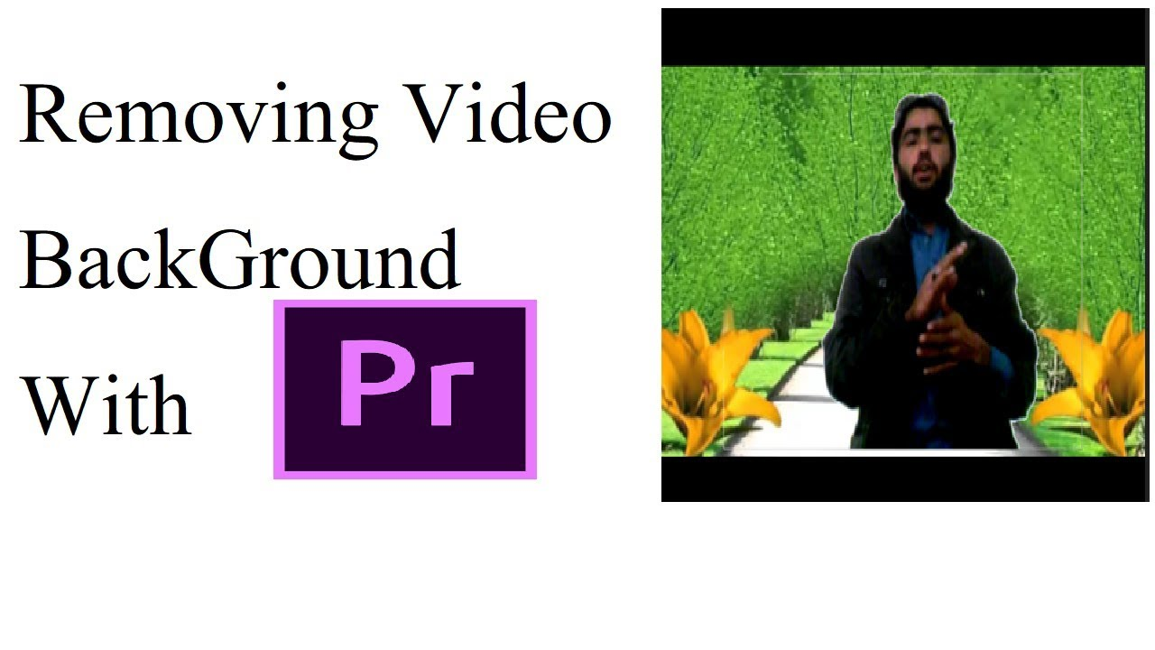 removing video background