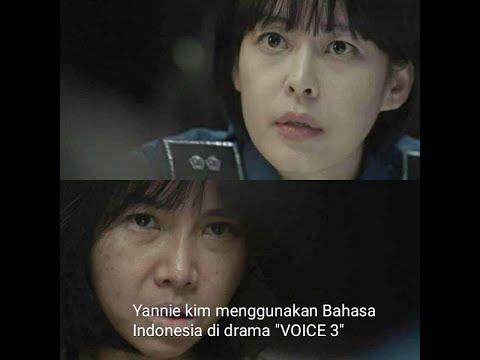 """HEBOH (YANNIE KIM) MENGGUNAKAN BAHASA INDONESIA DI DRAMA """"VOICE 3'' EPS 5-6"""