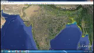 Top View Of India From Google Earth.............