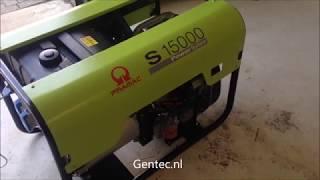 видео Дизельный генератор Pramac E4500