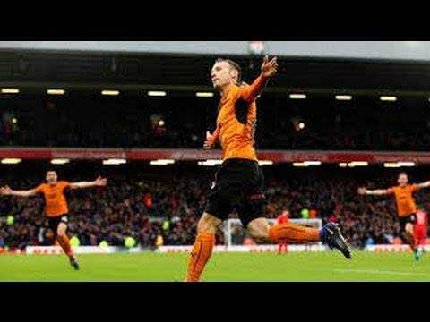 Andreas Weimann Goal_Liverpool vs Wolves 1-2   FA Cup   28/1/2017 HD