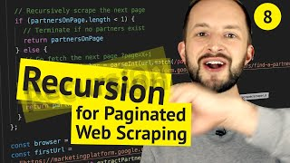 Recursion ➰ for Paginated Web Scraping