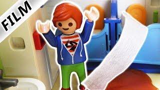 Playmobil Film deutsch | KACKE ÜBERFLUTUNG in KITA | JULIAN VERSTOPFT KLO | Familie Vogel