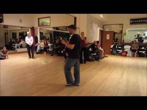 Tango Lesson: Cristina's Hook-Behind Sequence