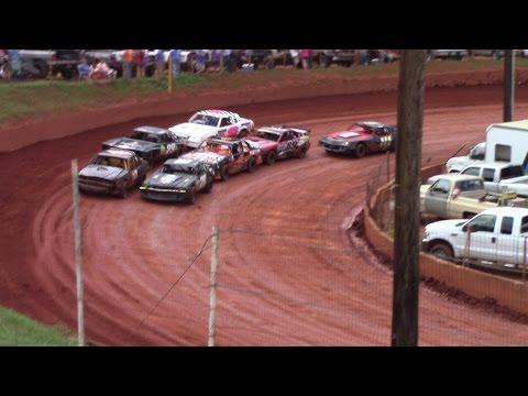 Winder Barrow Speedway Street Stock Feature Race 7/9/16