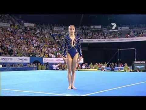 gym Emilie Le Pennec Sol World Artistic Gymnastics Champions