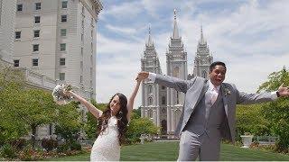 Ammon & Mariah | Salt Lake Temple Wedding Video
