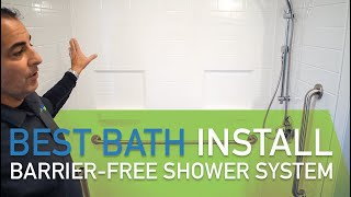 Bestbath Barrier Free Shower Systems at On The Mend Medical Supplies and Equipment