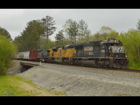 HD: NS Birmingham East District 4/14-4/15/2018: Standard Weekend Railfanning