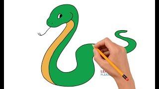 snake draw step easy