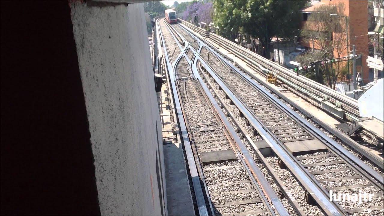Metro Maniobras Cambio De Via Linea 4 Martin Carrera Santa Anita
