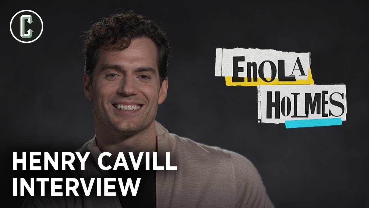 Henry Cavill on Enola Holmes and Getting His Muscles Into a Three-Piece Suit
