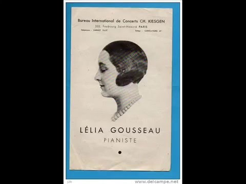 Lélia Gousseau plays Dukas -- Variations, Interlude and Finale on a Theme by Rameau
