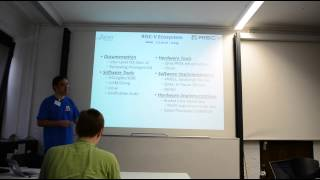 RISC-V: A Free and Open Instruction Set Architecture - ORCONF 2014