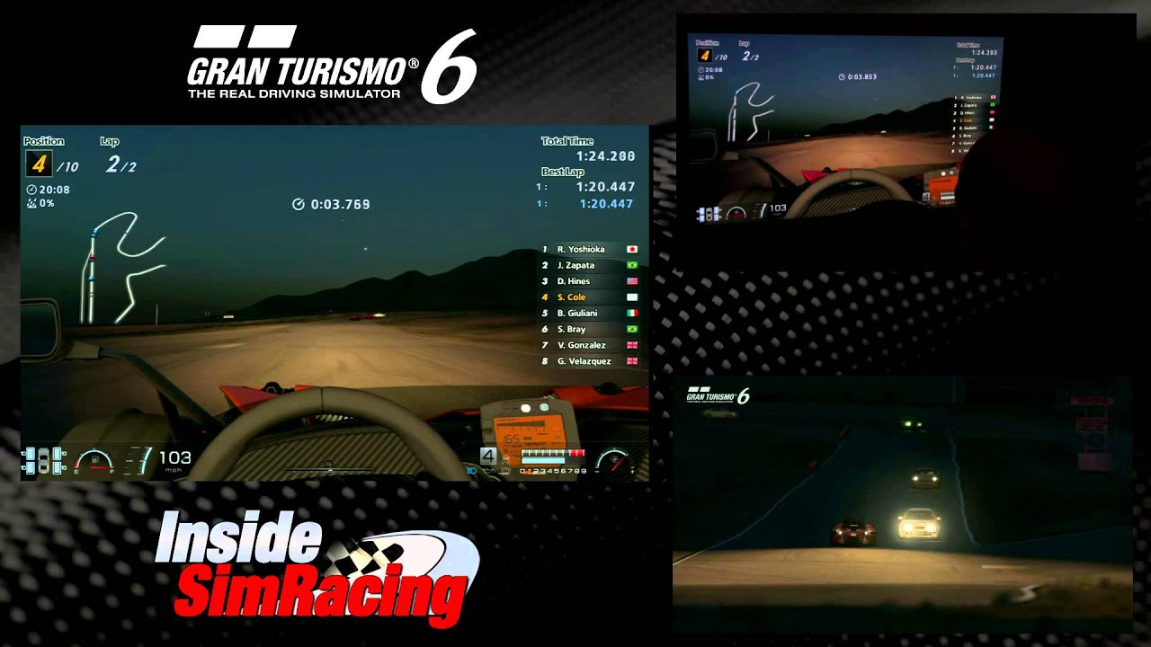 Gran Turismo 6 Streets of Willow Gameplay