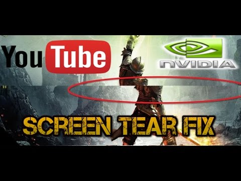 How to fix YouTube and Video screen tearing - Nvidia users