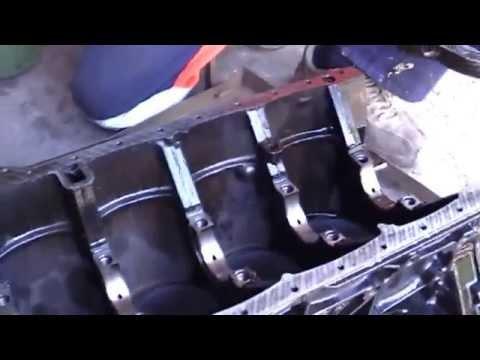 капитальный ремонт двигателя м 102 мерседес w 124 engine overhaul Mercedes w 124 102 m