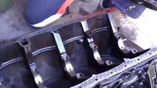 қозғалтқышты күрделі жөндеу м-102 мерседес w 124 engine overhaul Mercedes w 124 102 m
