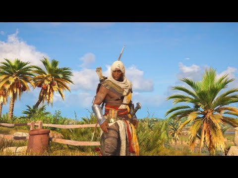 FREE ROAM FUNNY MOMENTS! - ASSASSINS CREED ORIGINS