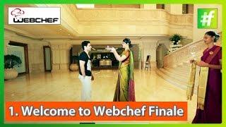 #fame food - WebChef Finalist Yuvraj Jadhav Welcomed At ITC Grand Chola hotel - Chennai