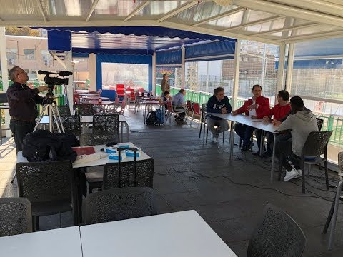 Tertulia en Ilusión Sport Center 20-11-17 (Badajoz-FC Cartagena)