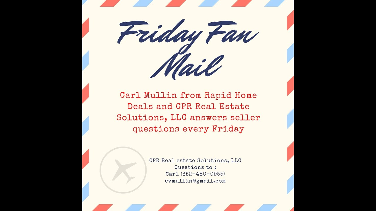 Fan Mail Friday  - Do We Sell Used Mobile Homes