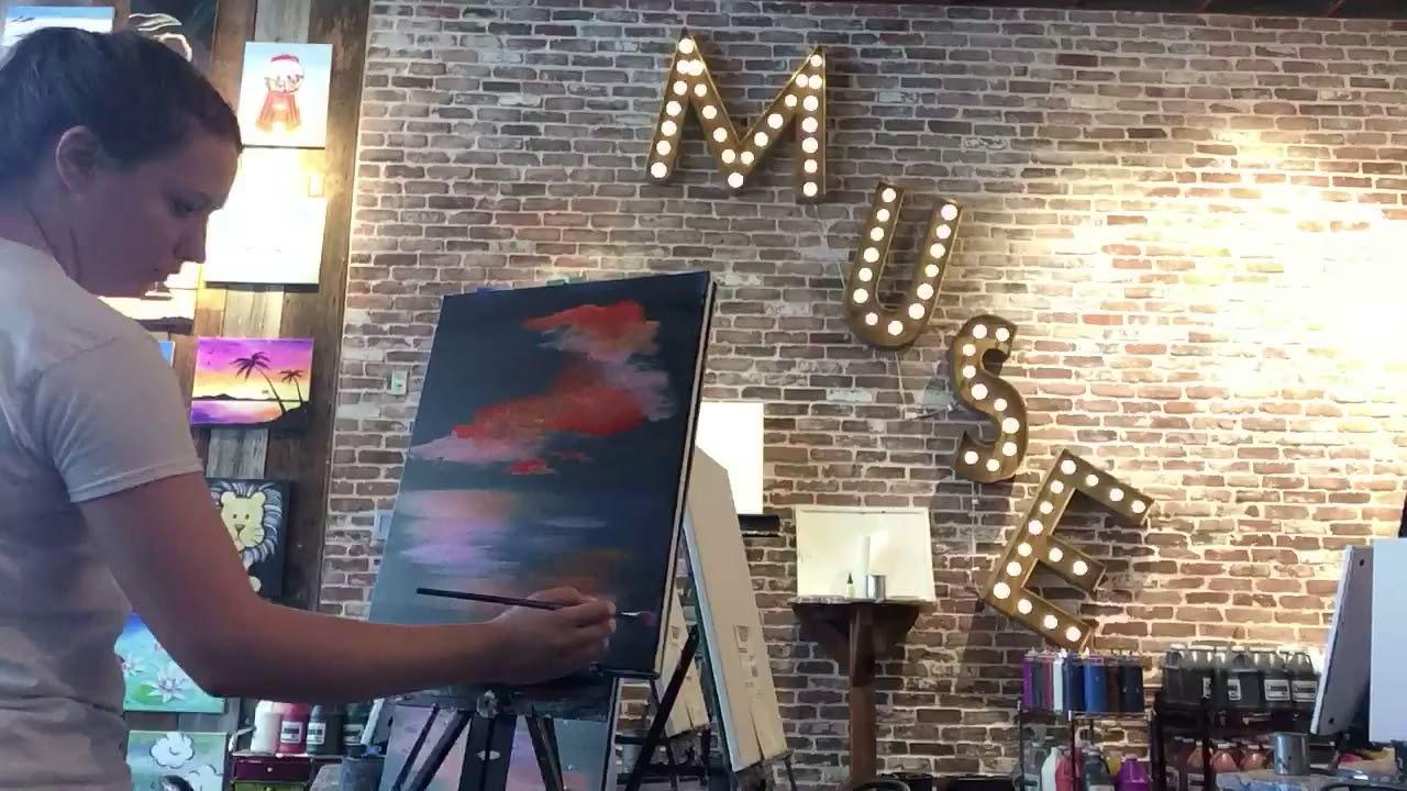 Muse Paintbar Paint Sip In Virginia Beach