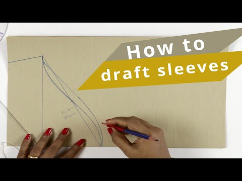 Lesson 3 How To Make Basic Sleeves Pattern In An Easy Way Application Of Measurements