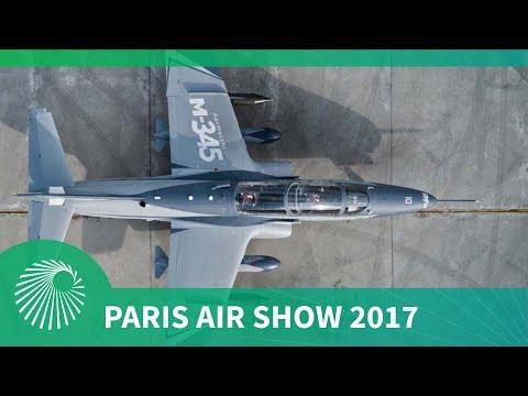 Paris Air Show 2017: Leonardo Aircraft M-345 trainer aircraft makes show debut