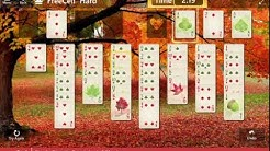 Fall Harvest\FreeCell II: Hard-  Play the 7♥ to the Foundation in 2:30 or less