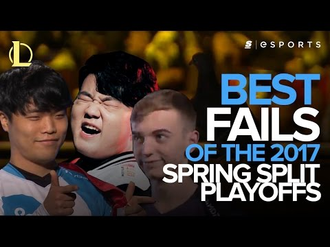 Best LoL FAILS from the 2017 Spring Split Playoffs