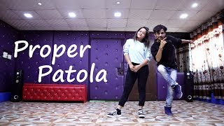 Proper Patola Dance | Badshah | Namaste England | Cover by Ajay Poptron and Sonali