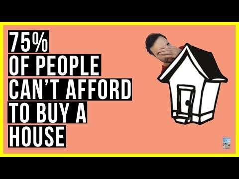 75% of Americans CAN'T AFFORD To Buy A Home! Prices Keep RISING But Wages Are STUCK!