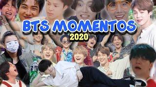 BTS MOMENTOS DIVERTIDOS QUE NOS DEJÓ EL 2020