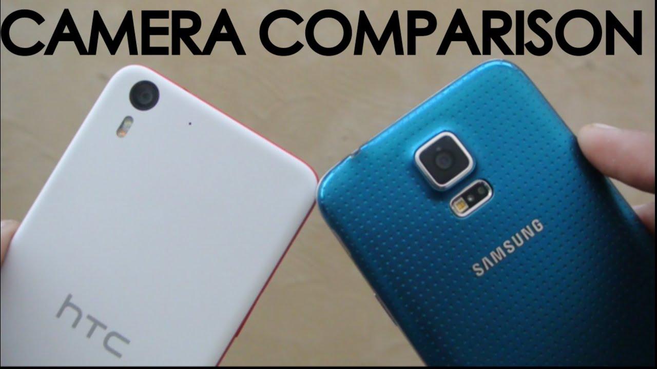 HTC Desire EYE vs Samsung Galaxy S5